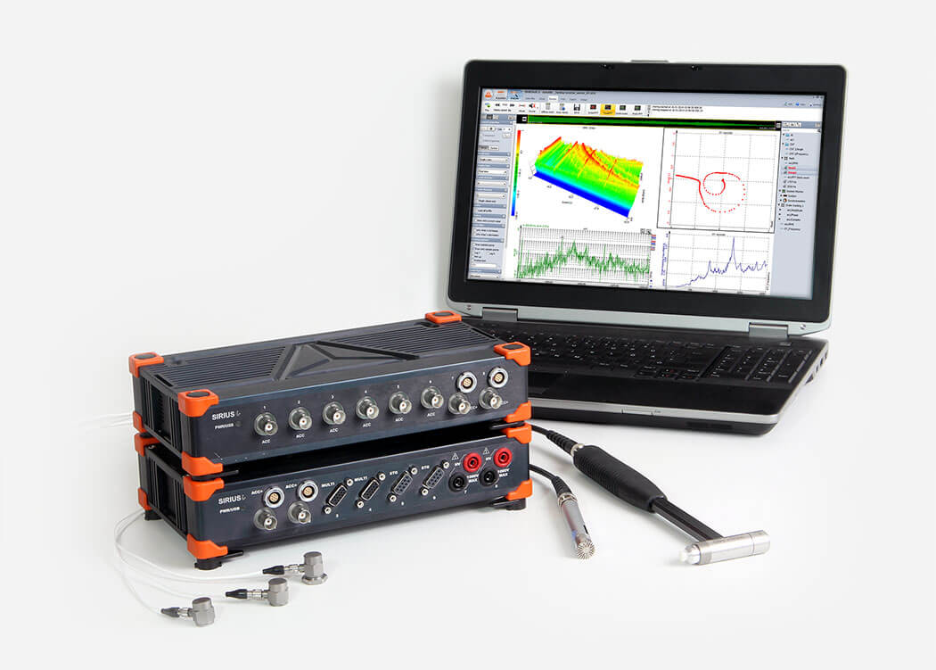Accelerometers and angle sensors | Dewesoft