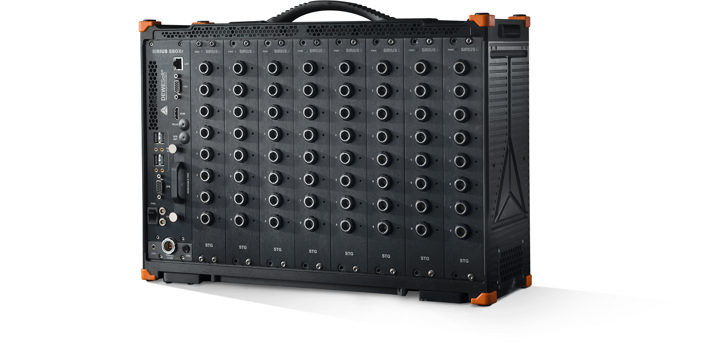 High channel count DAQ system with real-time control | R8rt | Dewesoft