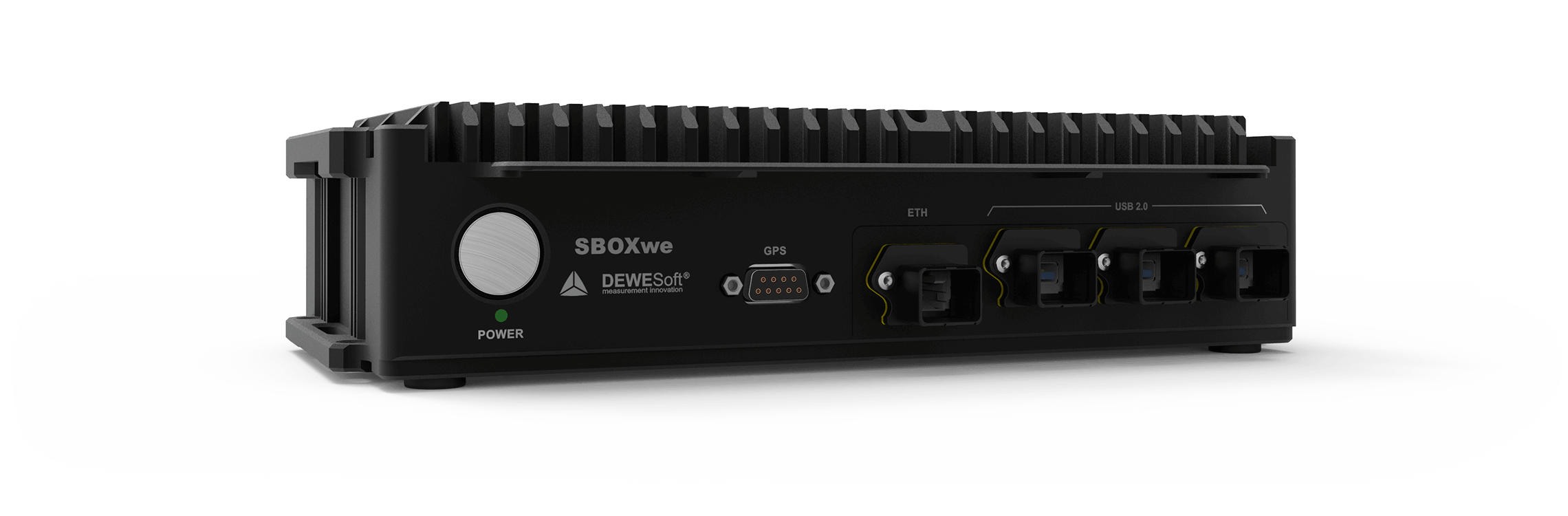 Rugged, IP67 data logger | SBOX waterproof | Dewesoft